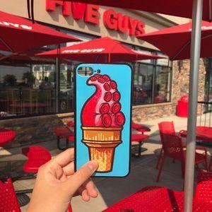 Icecream-cone-printed iPhone case